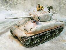 The Collectors Showcase Ww2 American Winter Cs00588W Sherman M4A1 Tank Mib