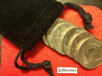 1971 1972 1973 1974 1976 1977 P D Kennedy Half dollars +Bag 6 LOW Cost Old Coins