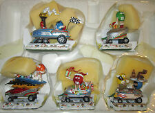 M&M'S Yuletide Flyer Christmas Caravan Hand Crafted Danbury Mint NIB