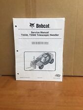 Bobcat T2556 T2566 Telescopic Handler Service Manual Shop Repair Book 2 #6986764