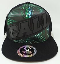 CALIFORNIA REPUBLIC Snapback Cap Hat CA CALI Bear Caps Hats NWT
