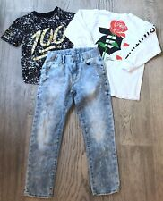Boys S Primitive Long Sleeve Phat Pfarm Gap 8 Reg Slim Jeans Outfit 374