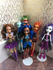 Ghouls Alive ! Frankie Deuce Clawdeen Rebecca Toralei Monster High Doll Lot