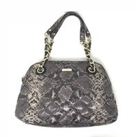 cc4a487282e0 Kate Spade Bag Quilted Georgina Model Satchel Snakeskin Print Python  Shoulder