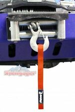 Winch Hook Strap, Orange