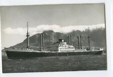 MS Tjibantjet Photo Postcard - KJCPL Royal Interocean Lines 1869