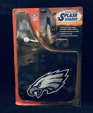 New NFL Philadelphia Eagles Black Logo Premium Mud Flaps/ Splash Guards