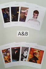 More details for david bowie memorabilia postcards