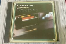 CD Franco Battiato - Unprotected - Emi 1994