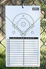 Murray Sporting Goods Dry-Erase Baseball Lineup Clipboard Marker Board