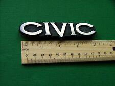 Original 1980-1981-1982-1983 Honda Civic-Civic Trunk Lid Emblem