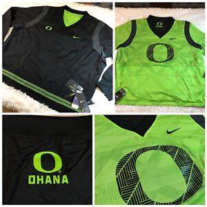 Nike Oregon Ducks Ohana Team Issue Reversible Pullover Size XXL Black DA8720-010
