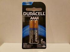 2 Duracell Ultra AAAA Alkaline BatteriesMX2500 E96 MN2500 LR8D425 25A USA SELLER
