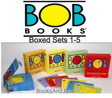BOB BOOKS 1-5 Pack Beginning Readers,Advancing Beginners,Word Families,Complex +