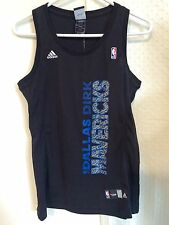 Adidas Women's NBA Jersey Dallas Mavericks Nowitzki Black Vertical sz S