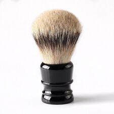Silvertip 30mm Badger Hair Knot Men Shaving Brush Wet Shave Removal Black Handle