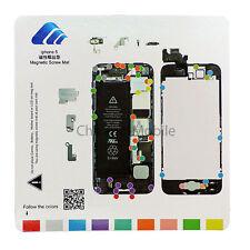 iPhone 5 5G Magnetic Screw Chart Mat Repair Guide Pad Tool