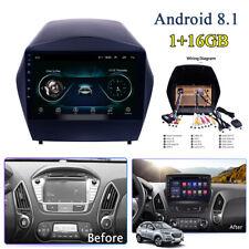 "9"" Android 8.1 2din 1+16GB Car Radio GPS Nav Player For Hyundai IX35 2009-2015"