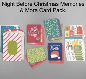 Stampin' Up! Memories & More Night Before Christmas Card Pack