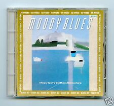 Moody Blues/I Know You're Out There... (Audio + Video) + 3 More Audio Trax MINT!
