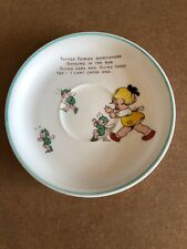Vintage Single Shelley Mabel Lucie Attwell Fairy Design Spare Saucer