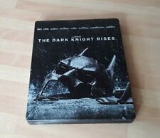 THE DARK KNIGHT RISES BLU RAY STEELBOOK (2 DISC HMV EXCLUSIVE)