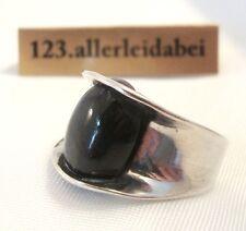 Finnland Kaunis Koru Ring Labradorit 925 er Silber Modernist 1974 / AM 600