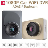 1080P Xiaomi Yi 2.7' LCD Screen Car Dash Camera Camcorder DVR Recorder WIFI Grey