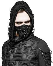 Punk Rave Para Hombre Máscara Protector Bucal negro imitación cuero GOTH dieselpunk Punk Pinchos