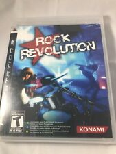 ROCK REVOLUTION Guitar game PlayStation 3 Complete PS3