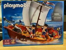 Playmobil Soldiers Boat American Revolution (#5948) 55pcs New Sealed in Box!