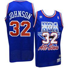 Magic Johnson Lakers Adidas NBA 1992 All-Star Game Swingman Jersey XL