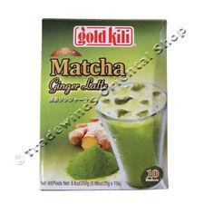 "Oro ""Kili"" instantánea Matcha Jengibre café con leche - 10 X 25g"