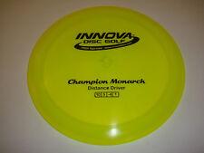 Disc Golf Innova Champion Monarchunderstable Distance Driver 175g Yellow