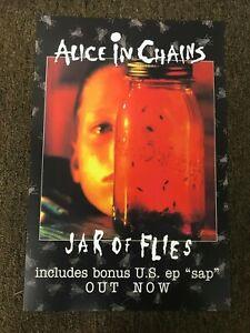 "Alice in Chains Jar of Flies Sap Layne Staley Promo Cardstock Poster 12""x18"""