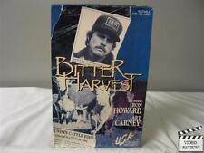 Bitter Harvest (VHS, 1986 Large Case) Ron Howard, Art Carney, Tarah Nutter; Good