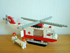 LEGO 6691 Red Cross Helicopter (1981 Classic Town) [Vintage / Rare]