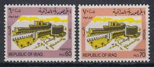 Irak Iraq 1983 ** Mi.D375/76 Official Stamps Dienstmarken Gebäude Building