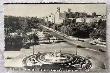 """CPSM """" MADRID - Plaza de Canovas del Castillo y Paseo del Prado"""