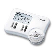 Beurer EM 80 Electrostimulator Digital Massage EMS TENS 4 Channels 8 Electrodes