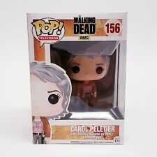 New Funko Pop! Television Carol Peletier #156 The Walking Dead GUN IN HAND AMC *