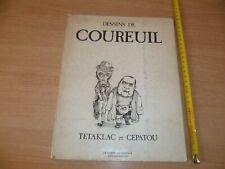 (B32)  ANCIENNE POCHETTE DE 12 DESSINS DE COUREUIL TETAKLAC ET CEPATOU