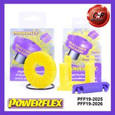 Ford Fiesta Mk7 08on Powerflex Uppr Engine Mount Inserts PFF19-2025 / PFF19-2026