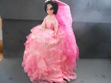 Vintage Carnival Doll 1960's Pink Dress