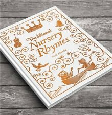 Embossed Classic Hardcover Personalised Children Book Traditional Nursery Rhymes