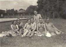 WWII Ger RP- Soldier- Semi Nude- Frau- Female- Girlfriend- Swimsuit- Happy Days
