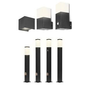 Grafner® Wandleuchte Wegeleuchte Außenleuchte Bewegungsmelder Gartenlampe IP44