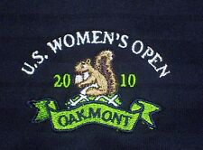 TWO (2) U S Womens Open 2010 Oakmont ~   Dark Blue Golf  Shirt  WOMENS SIZE L