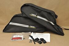 Vtg Yamaha Venture VT500 VT600 Sofpack 2-Up Seat Saddlebag Luggage Carry Bag Set
