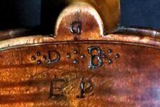 Very old violin - Sehr alte 4/4 Geige dat. 1769 m. BRANDSTEMPEL (?) RAR